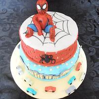 Spiderman baby by Le Cupcakes della Marina