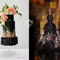 Couture Cake 2018- Eli Saab inspired cake