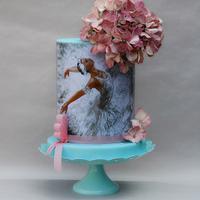 Ballerina cakes birthday