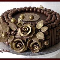 Anniversary Maltesers Cake