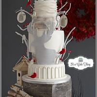Wedding Submission for Cake Central Magazine Volume 4 Issue 12