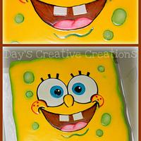 Spongebob face by Day