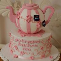 Teapot Kitchen Tea Cake