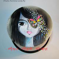 Torta Dulce Mariposa diseño R. Lerda By Marisa Morelli Monfort