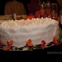 Lady Baltimore Cake with old-fashioned Boiled Icing