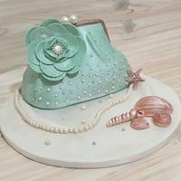 vintage clutch handbag