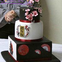 Japan wedding cake