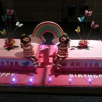 twins cake by mick
