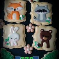 Woodland Cookies!