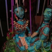 avatar cake by Maria  Teresa Perez