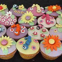 Spring's cupcakes by Le Cupcakes della Marina