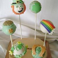 St. Patricks Cake Pops