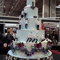 Saracino's Featured Piece For Cake International 25th Anniversary