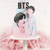 BTS Birthday cake