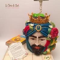 The moorish head of Sicily