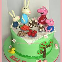 Peppa and Friends Picnic ~