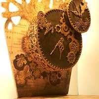 Steampunk Clock cake