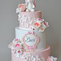 1st Bday / Christening cake