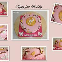 Birthday cake by Cakes-n-Sweets