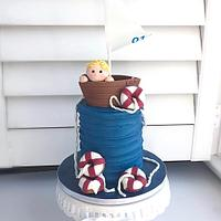 Sailboat Smash Cake