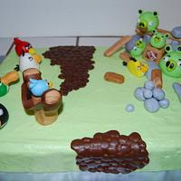Angry Birds by Nicole Taylor