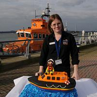 The RNLI cake collaboration