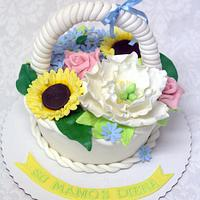 Mother's Day cake  by Lina