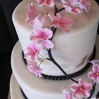 Apple Blossom Wedding Cake