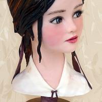 Miharu Yokota Inspiration, Dulces Ilustrados Collab by Rosa Guerra (Tartas Oh by Rosa)