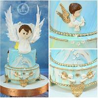 Baby Angle cake