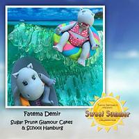 """Summerholidays with Babette & Bertram"" / Sweet Summer Collaboration"