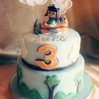 Little aviator cake