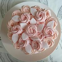Buttercream Ruffles and Roses Cake by Strawberry Lane Cake Company
