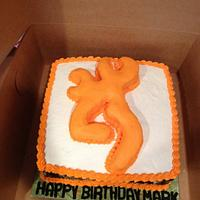Mans browning cake by Beverly Coleman