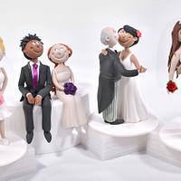 Funny Couple Figurines