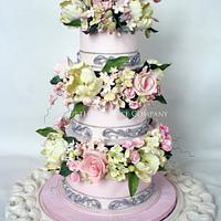 Spring & Summer flowers by CourtHouse Cake Company