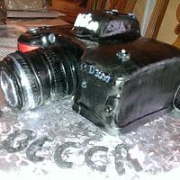Nikon Camera Cake by Rosey Mares