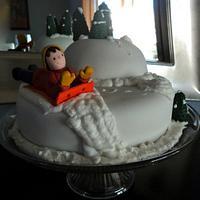 Snow Fun by Elisa's Sweet Cakes
