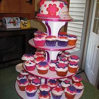 Birthday Cupcake Tower by Kimberley Jemmott