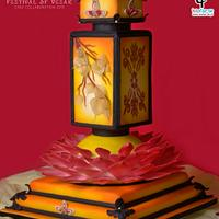 Vesak Enlightenment Cake