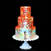 Karen Tarelton Wedding Cake