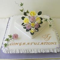 Congratulations! Wedding Cake