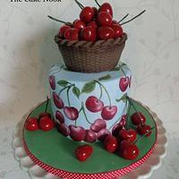 Summer cherries, Sweet Summer Collaboration.