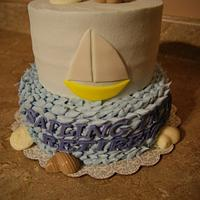 Sailing into Retirement cake
