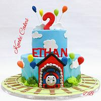 Trenino Thomas Birthday