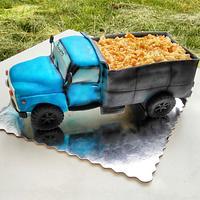 3D cake truck