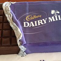 Cadbury Chocolate Cake by Dell Khalil