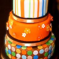 Orange Dream Cake by Stacy Lint