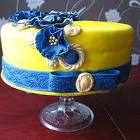 Birthday cake by Wanda