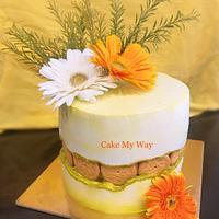 Cookies fault line cake